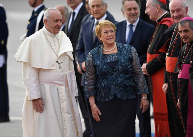 Francisco en Chile_AFP